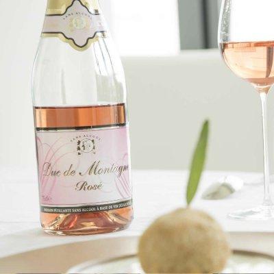 画像1: 【ノンアル】 ノンアルコールワイン デュク・ドゥ・モンターニュ ロゼ ミニ 200ml