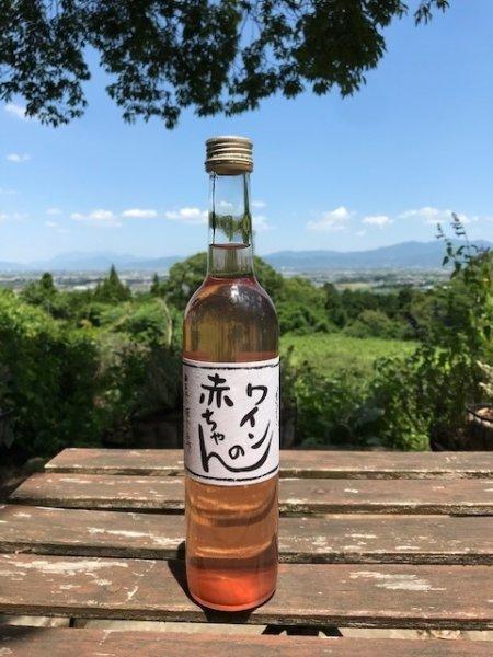画像1: 【赤ワイン】 ワインの赤ちゃん 7% 500ml  (1)