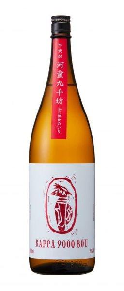 画像1: 【芋焼酎】  河童九千坊 ふくおかのいも 25度 1800ml (1)