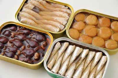 画像3: 竹中罐詰 ホタルイカくん製油づけ 1缶